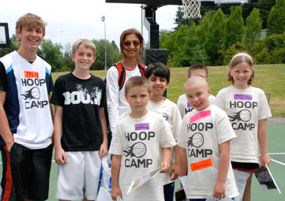 HoopCamp Winning Team 2009